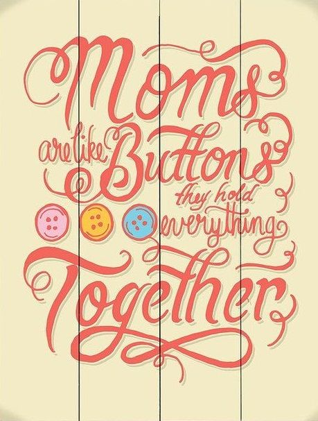 Moms hold everything together. The great mom who knows everything! Tap to see more inspiring quotes about mother's love & caring. ♥ - @mobile9