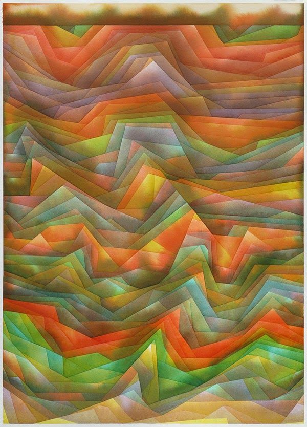 Edges: Paintings by Alex Diamond