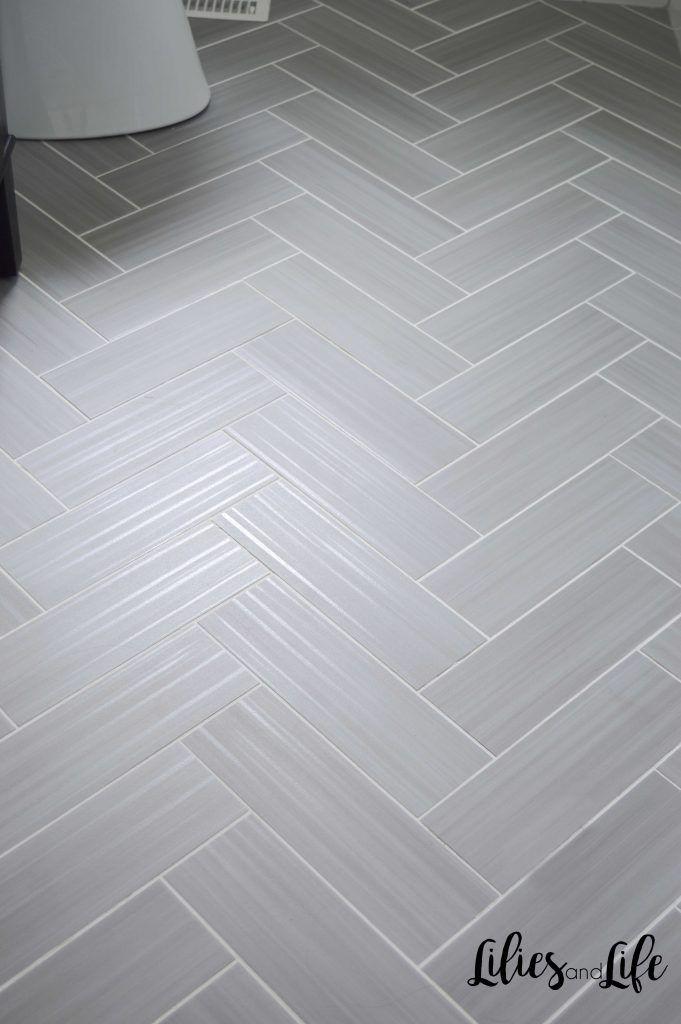 Powder Room Remodel Bathroom Remodel Powder Room Remodel Herringbone Tile Floors Full Bathroom Remodel