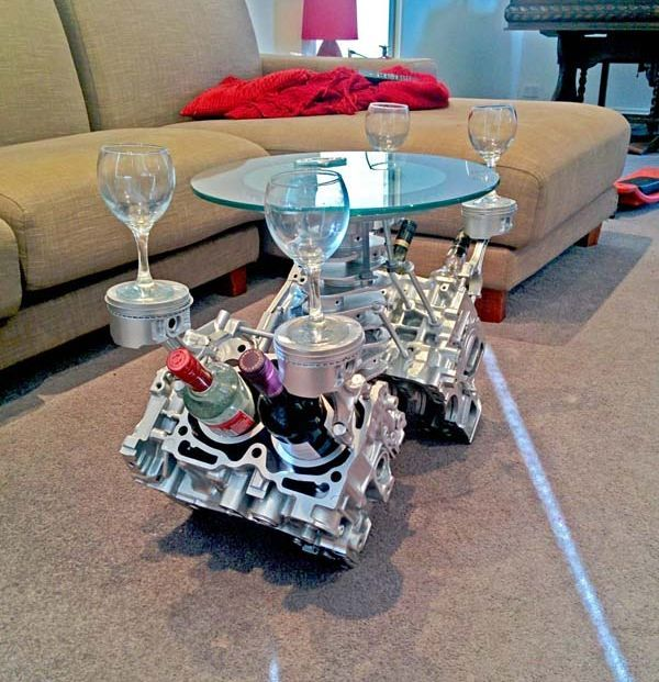 V8 Engine Glass Table: Best 25+ Engine Coffee Table Ideas On Pinterest