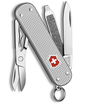 Victorinox Swiss Army Pocket Knife, Classic SD Silver Alox 53012 - All Watches - Jewelry & Watches - Macy's. $30