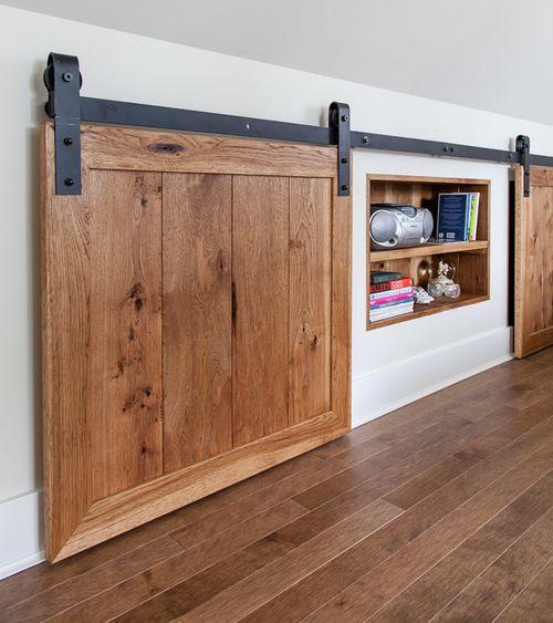 barn door storage (closed): thehousediaries.com