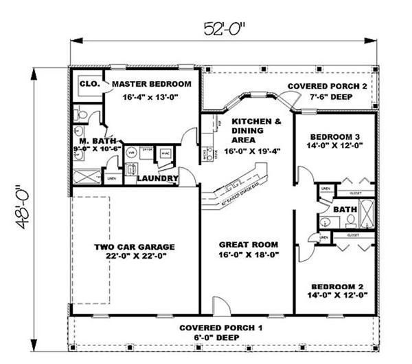 Kerala Home Design: 1500 Sq Ft House Plans: Beautiful And Modern Design