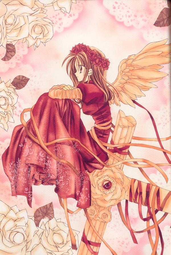 Kamikaze Kaitou Jeanne - Maron/Jeanne - I love this picture! <3