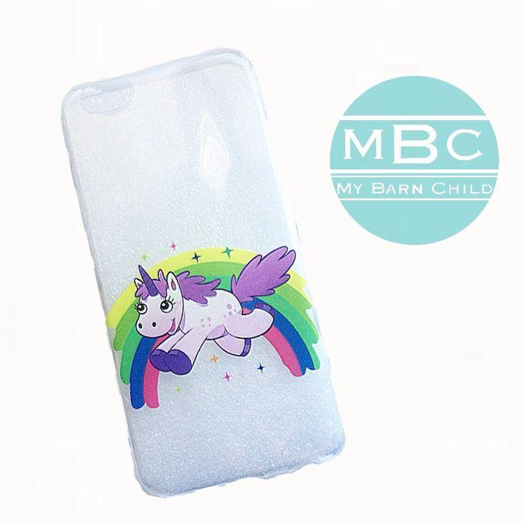 Phone Case: Rainbow Unicorn - iPhone 6/6s