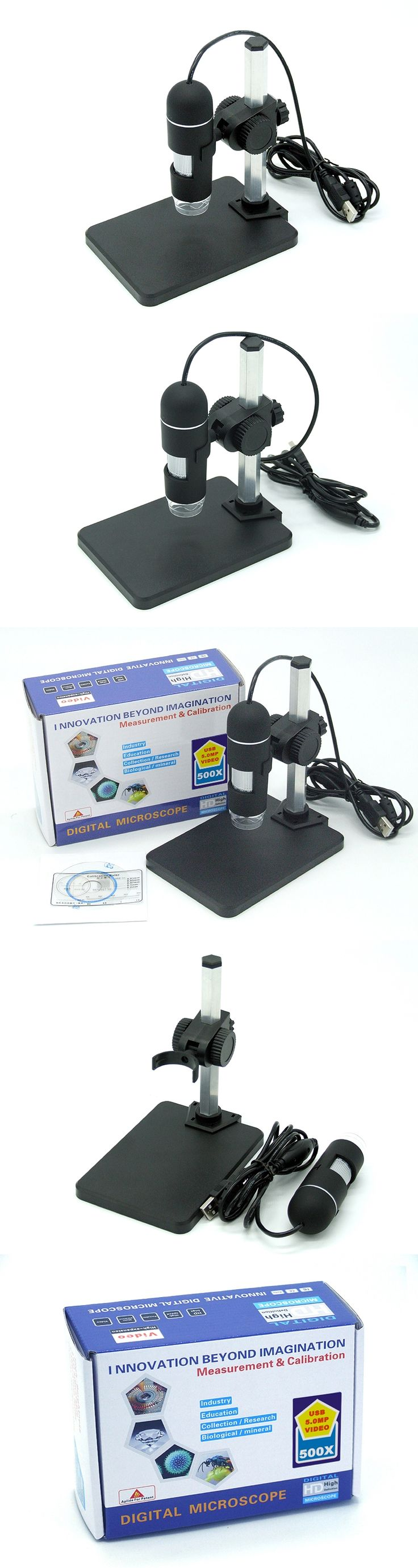 Super HD 5MP 500X USB Microscope Handheld Endoscope