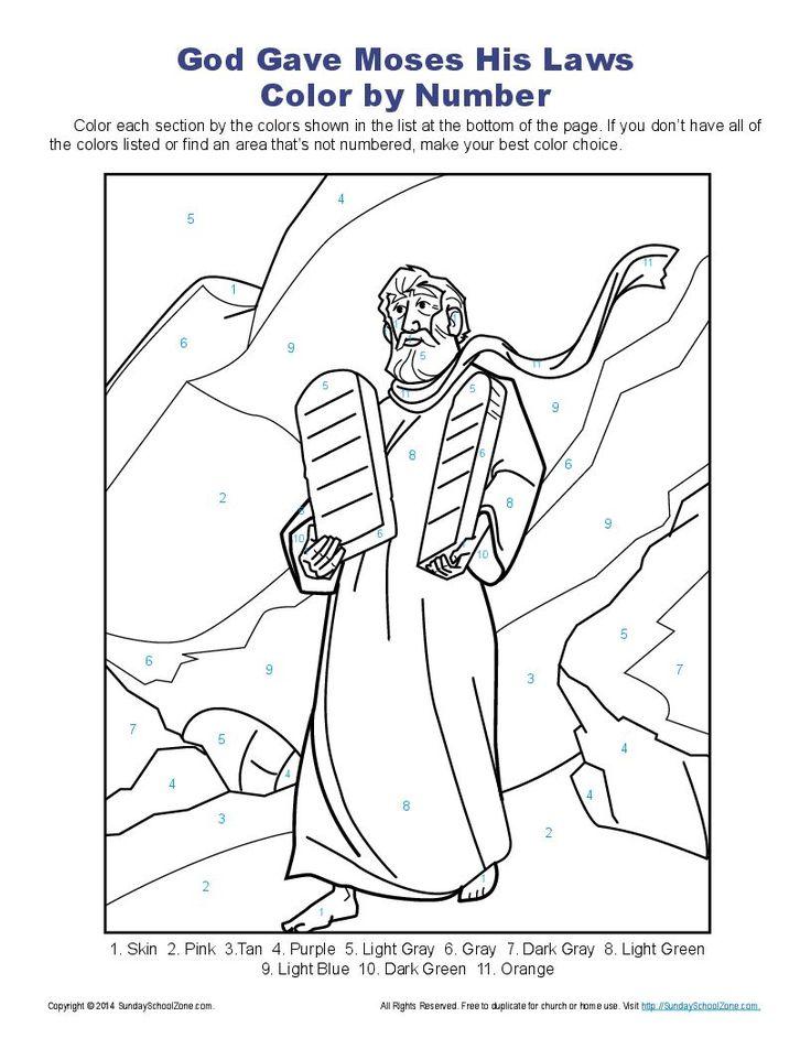 29 best Ten Commandments Bible Activities images on