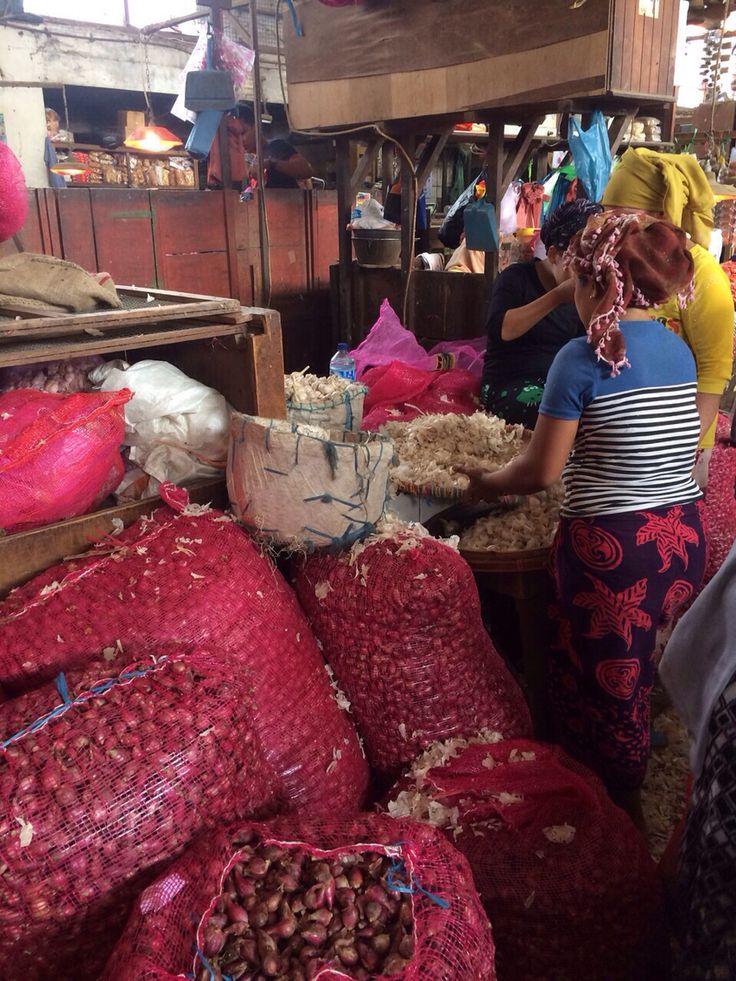 Surabaya Java fresh food market