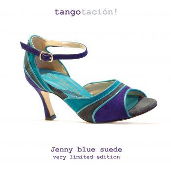 Tangotación! Jenny Turquoise LIMITED EDITION - Mariposita Avondschoenen | Trouwschoenen | Dansschoenen