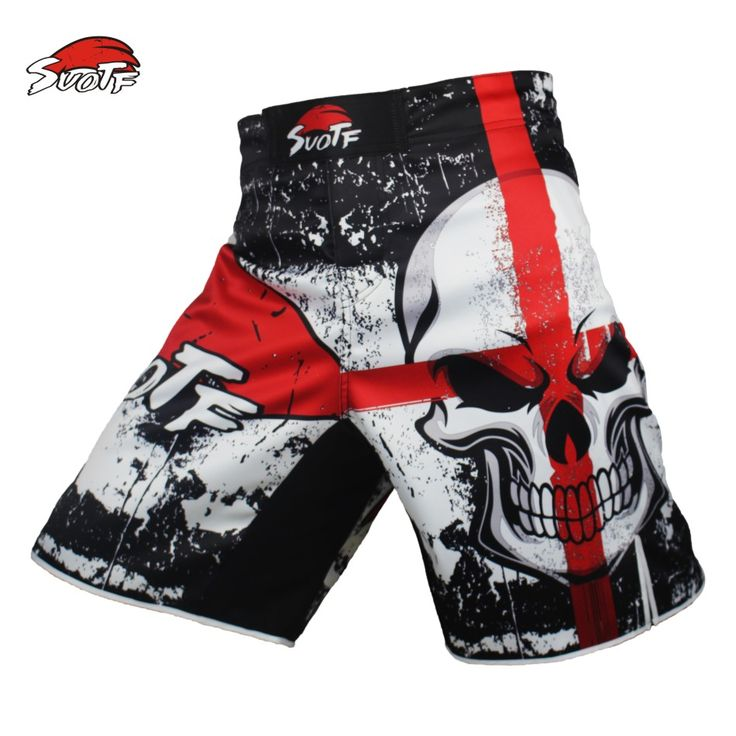 Cool MMA Shorts with Skull (Wholesale Price) //Price: $21.60 & FREE Shipping //     #hashtag2