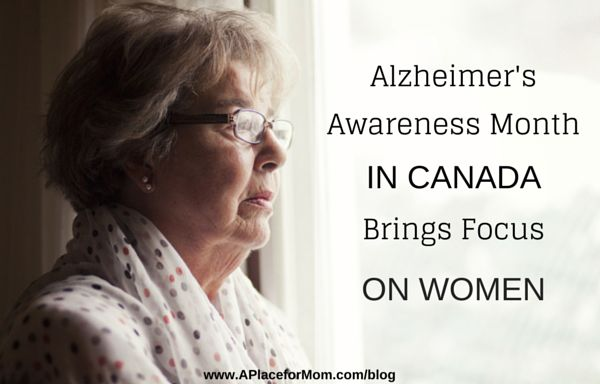 January marks Alzheimer Awareness Month in Canada. Learn about the impact of Alzheimer's on Canadians, specifically women.