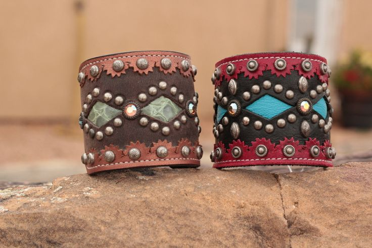 Casual Chaos Cuff - Classic Leather Designs