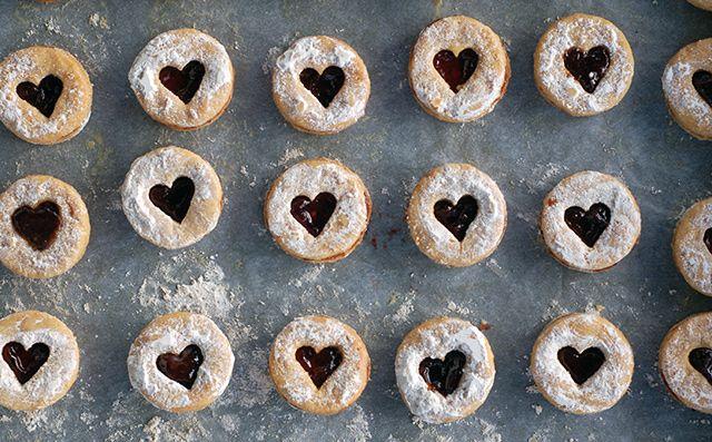 Vianočné pečivo: Zdravé linecké koláčiky z lásky - Fitshaker