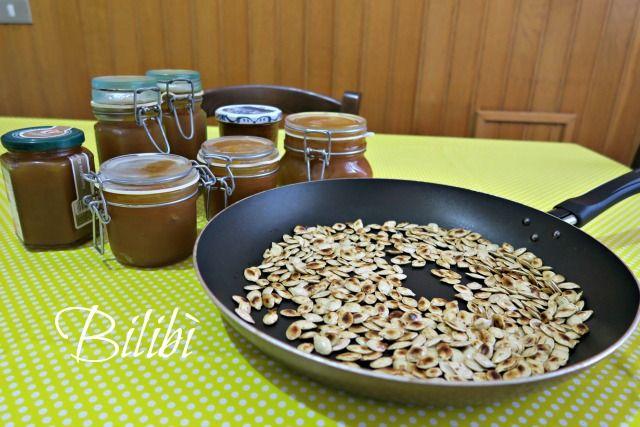 In cucina con Bilibì: Marmellata e semi di zucca tostati