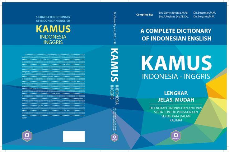 cover KAMUS INDONESIA INGGRIS  #pustaka pelajar #digiart-jogja