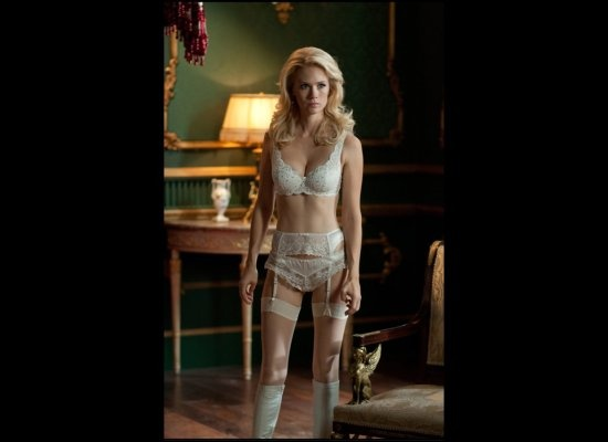 I love vintage lingerie.  I should own some, but it's so pricy!  I don't even match bras and underwear.  :(: First Class, X Men, Whitequeen Xmen, Sexy Women, Jones Whitequeen, January Jones, Emma Frostings, Marvel Villains, Celebrity Legs