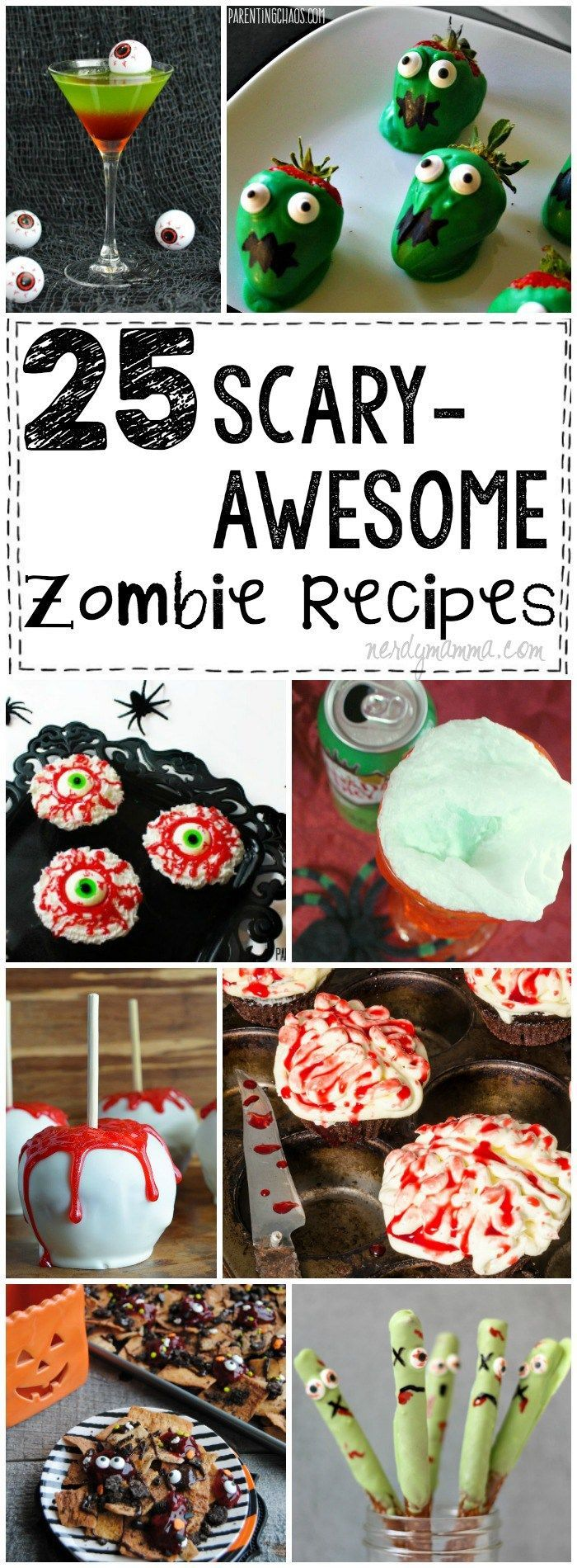 OMG! You have to check out these scary-awesome zombie recipes before your next…