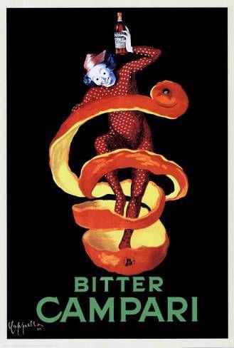 Bitter Campari | Vintage food & drink poster | Retro advert #Vintage #Retro #Posters #Affiches #Food #Drinks #Carteles #deFharo #Ads