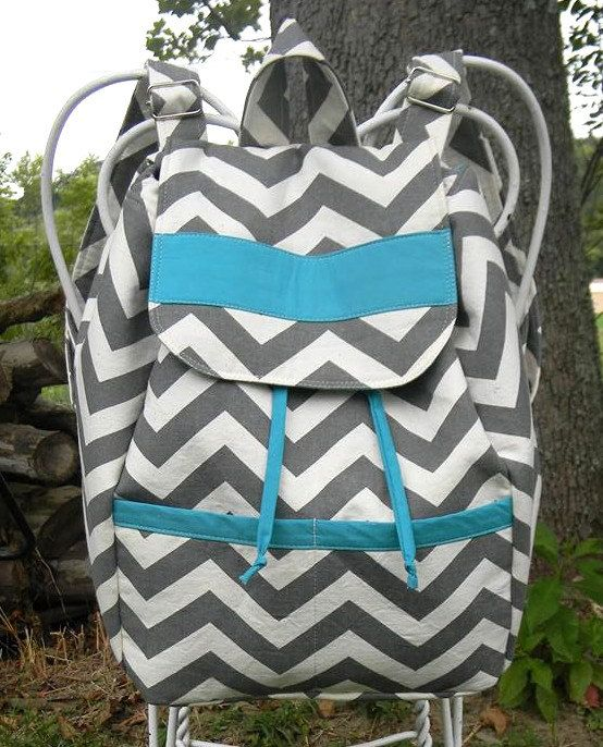Backpack Diaper Bag Nappy Bag purse by vibrantdesigns on Etsy