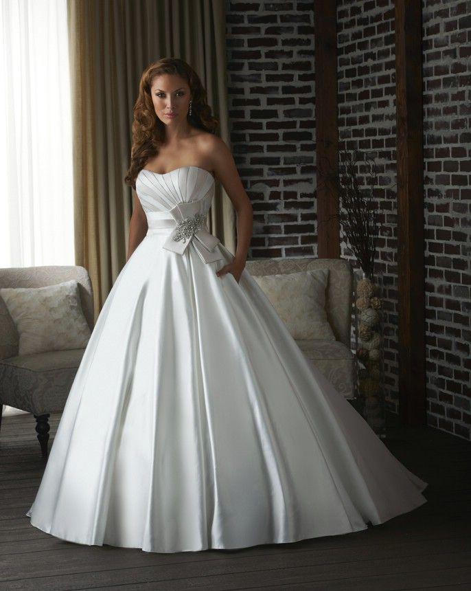 The Modern Ball Gown Bonny Wedding Dresses Style 312 Bonny