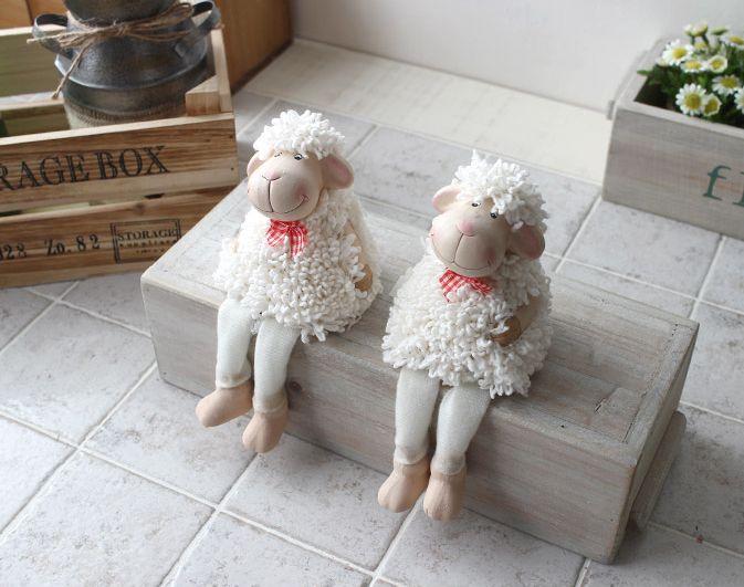 [바보사랑] 앉은 자세가 너무 귀여워요 /인테리어/소품/인형/양/장식/데코인형/장식인형/양소품/Interior/Props/doll/Sheep/Decoration/Deco Doll