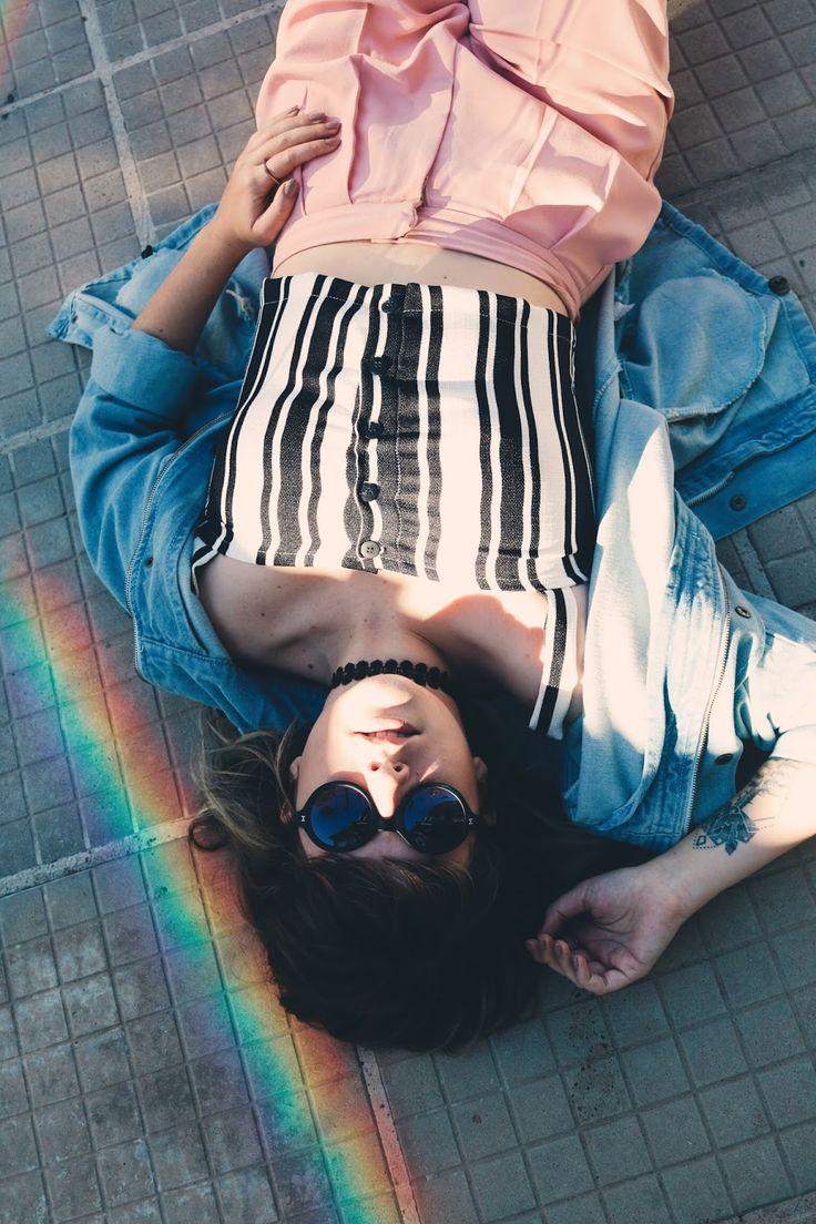 Look com calça rosa de alfaiataria da loja Não Vivo Sem.  look do dia, calça rosa alfaiataria, alfaiataria, jaqueta jeans, não vivo sem store, rose quartz, tumblr, foto tumblr, pinterest, blogger, blogueira gaucha, blogueira rs, outfit, summer outfit,