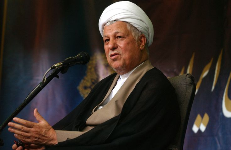 Dead as a consequence.  (comment of Aynaz Anni Cyrus: What a great day... Ali Akbar Hashemi Rafsanjani, the ex-president of Iran was responsible for torture and death of many Iranians inside and outside of Iran. He lead the bloodiest era of Islamic ruling... He died at age 82. Today is a happy day for all Iranians ✔)