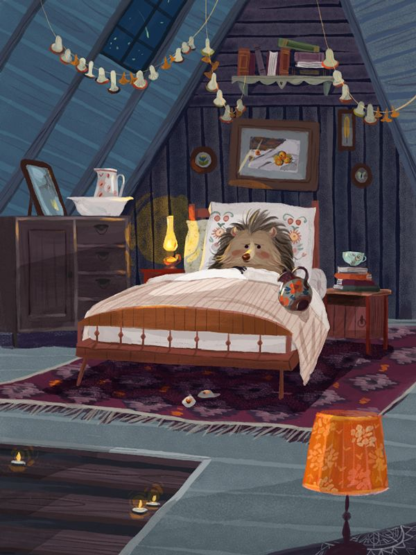 Little Hedgehog Author: Eduard Uspenskiy Illustrated by: Olga Demidova - SO CUTE GAH!!!