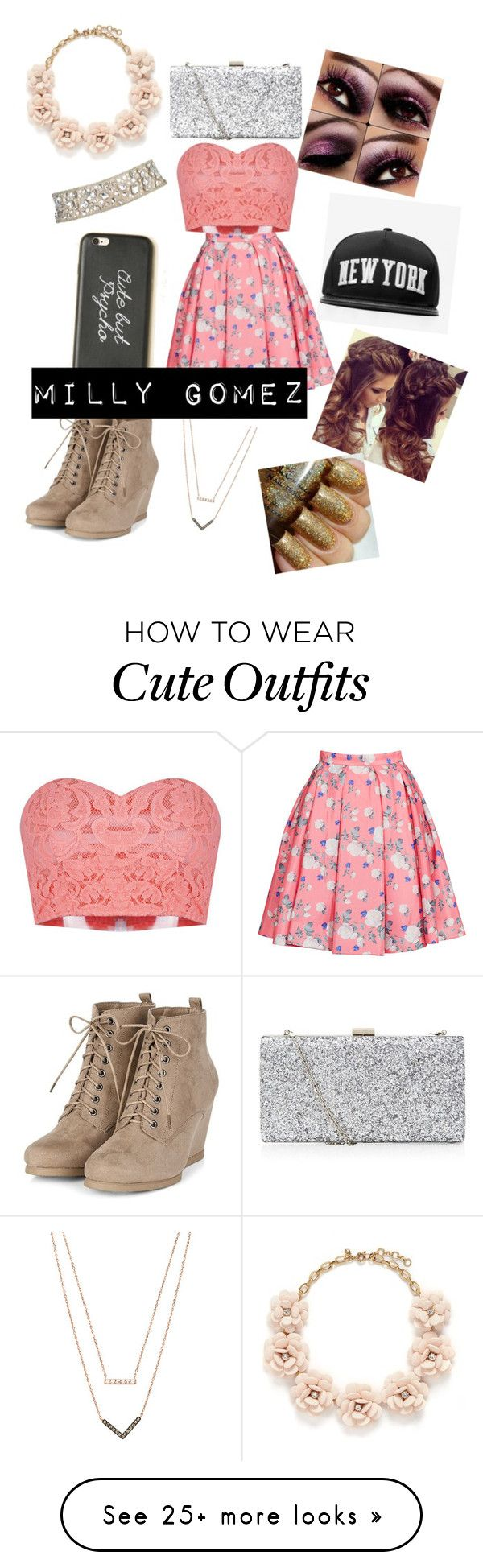 Milly Gomez outfit for my story by mrssimpsonstyleshemmings on Polyvore featuring J.Crew, ERIN Erin Fetherston, Stampd, Michael Kors, womens clothing, womens fashion, women, female, woman and misses