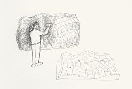 Words Just for You (drawing for installation) by Ahn Kyuchul contemporary artwork