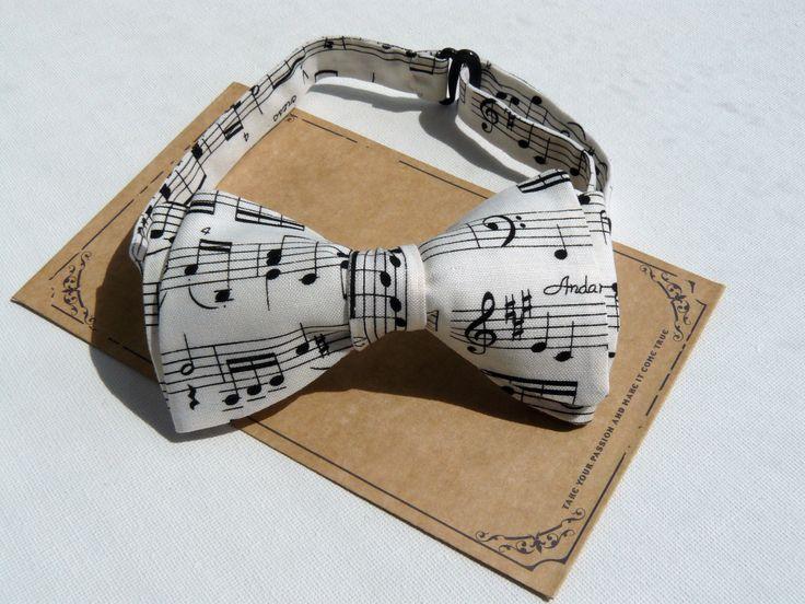 Бабочка с узором Нотная тетрадь, для ценителей музыки, самовяз на застежке, 1000 рублей. Для заказа пишите в WhatsApp +79202714410