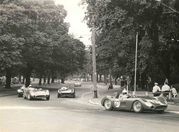 1953 Australian Grand Prix on the Albert Park street circuit.