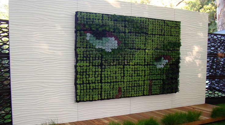 Transform your garden or indoor space with a versatile vertical garden from 02 Plant Walls. Bringing greenery to urban spaces.