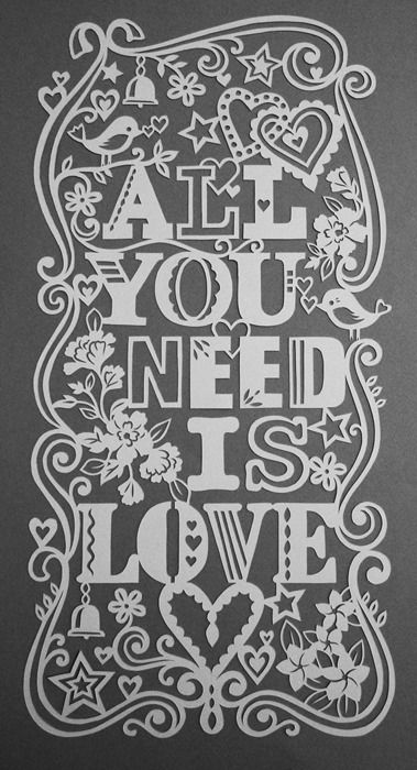 Papercut - All You Need Is Love