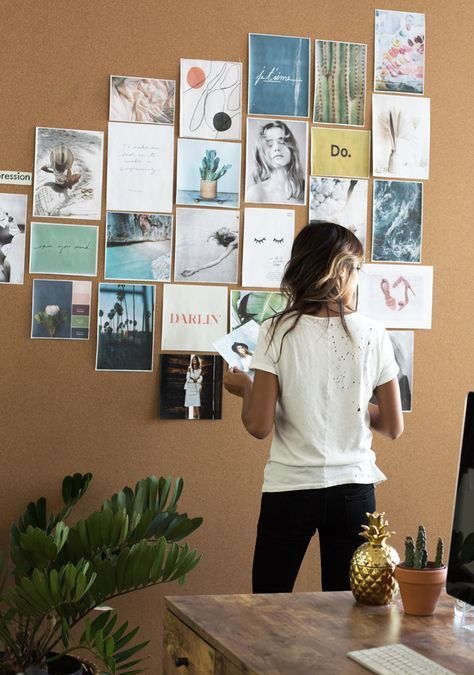 create your own inspiration wall
