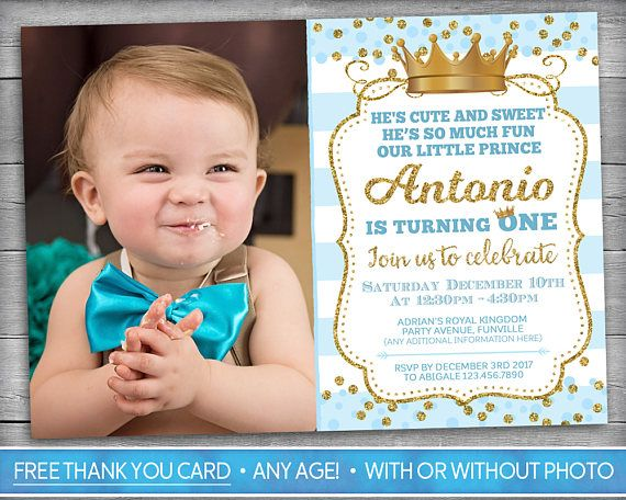 prince invitation little prince first