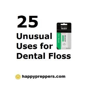 did you know that dental floss could save your life...?