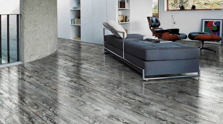 Manufactured grey hardwood flooring available at express for Manufactured hardwood flooring
