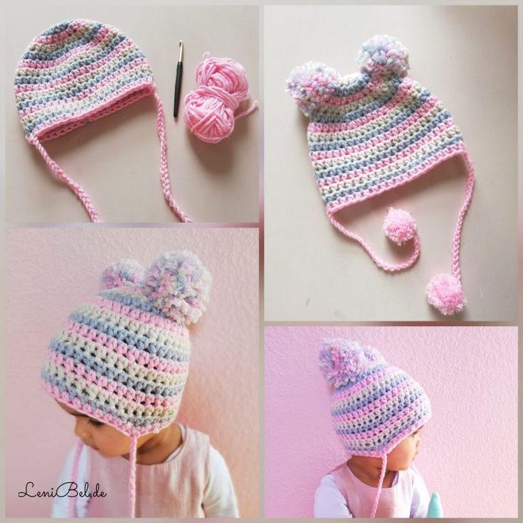 Mütze häkeln für Baby / Kleinkind