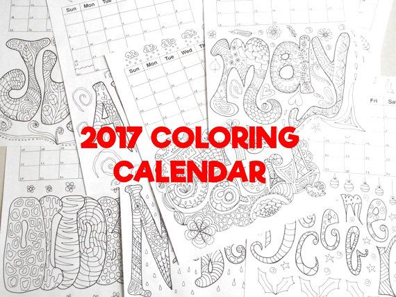 The Luck Of The Irish Adult Coloring Calendar 2018