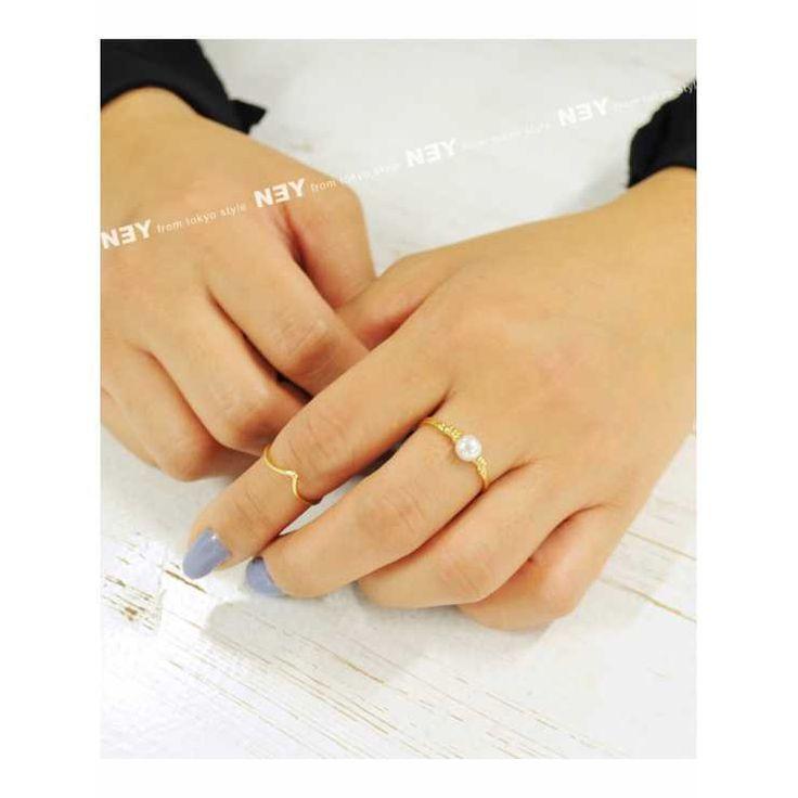 【全品!AFTER SALE開催中】NEY(ニー)◆シンプルワイヤーファランジパールリング(指輪/ゴールド/シルバー/シンプル/パール/ワイヤー/リング/アクセサリー/アクセ/小物/レディース)|Luz Llena(ラズレナ)の商品詳細ページです。商品説明、画像、レビューも充実。ぜひ楽しいお買いものにお役立てください!- ファッション通販%SITE_NAME