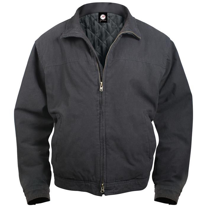 Concealed Carry Jacket - Cotton Three Season Concealed Carry Coat