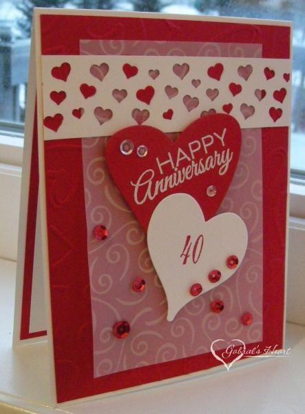 tomorrow 40th wedding anniversary anniversary hearts anniversary ideas ...