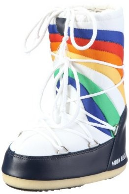Tecnica Women's Rainbow Moon BootBoots Women, 11 Rainbows, Women 11, Tecnicas Moon, Rainbows Bright, Rainbows Moon, Moonboots, Tecnicas Women, Moon Boots