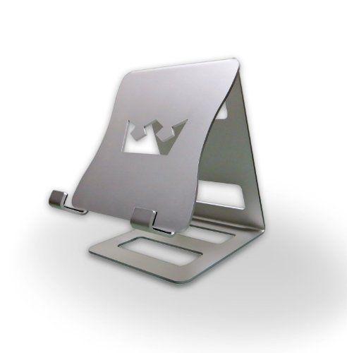 ipad halterung present it halter f r ipad und andere tablet pcs aluminium silber von. Black Bedroom Furniture Sets. Home Design Ideas