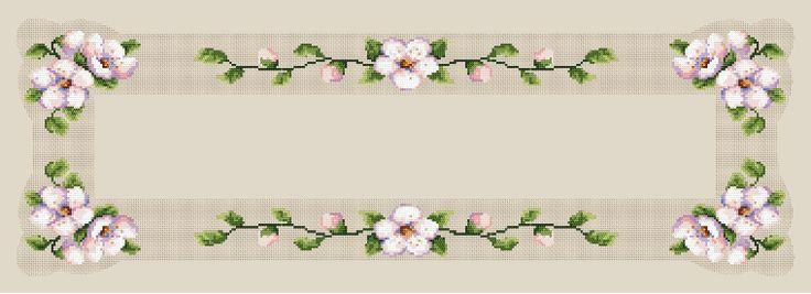 Bieżnik z kwitnącą wiśnią - B. Sikora