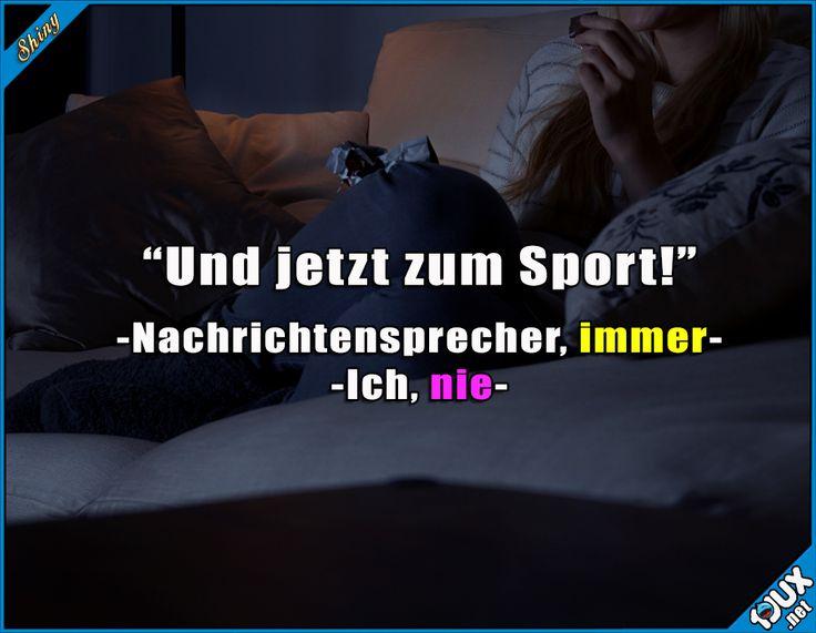 Und jetzt zum Sport!