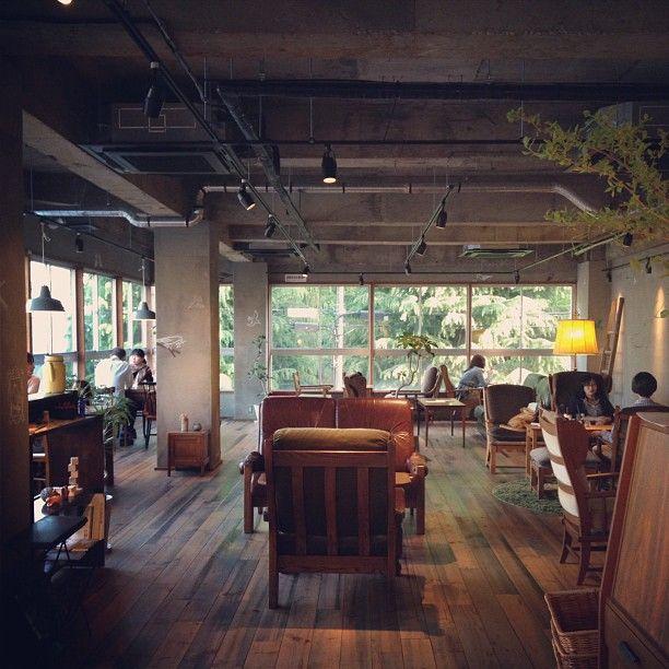 Cafe Marble, Kyoto. #Kyoto #cafe #interior