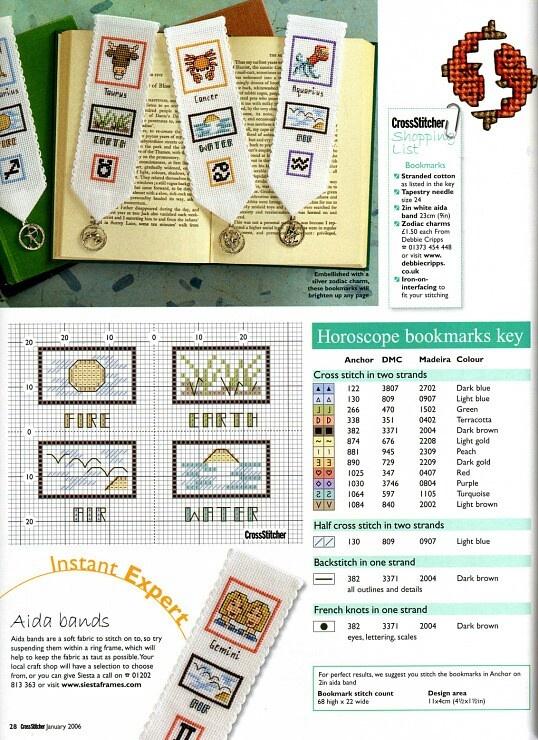 Horoscope bookmarks 3