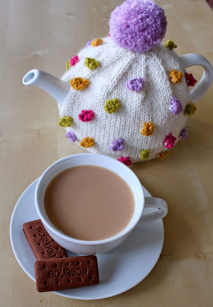 My delightful Bobbles Tea Cosy by Sian Brown is a cheerful addition to the tea table. Sian sent...
